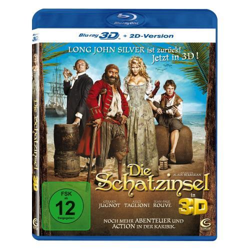 Die Schatzinsel 3D (inkl. 2D Version) [Blu-ray 3D] für 4,99€ @Amazon