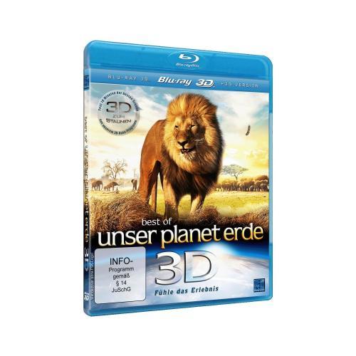 Best of Unser Planet Erde 3D - Fühle das Erlebnis [3D Blu-ray] [Amazon.de] 6,97 €