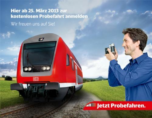 Bahn Probefahren in Region Sachsen - Thüringen - Sachsen-Anhalt