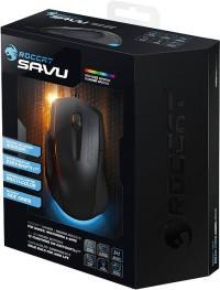 [Zubehör] Roccat Savu mid-size Hybrid Gaming Maus schwarz 39,95€ (nur heute)
