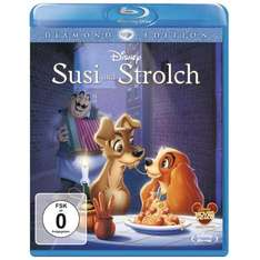 Susi & Strolch DIamond Edition Blu RAy für 10,99 € bei Amazon
