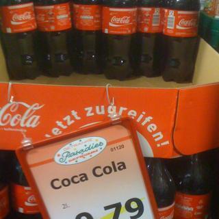 [Lokal: Hamm - Coca Cola 2L 0,79€ (+ Pfand)