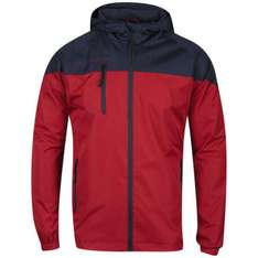 [TheHut] Bravesoul Men's Mini Rip Shoot Jacket - Red