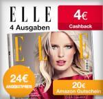 [Qipu Deal] Effektiv kostenloses Elle Probeabo durch Amazongutschein und Cashback