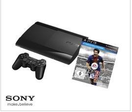SONY PlayStation 3 12GB + DualShock3 Wireless Controller + FIFA 13 @ MediaMarkt.de für 188,00 EUR