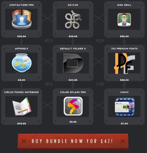 Macbundler Spring Bundle – 9 Apps für 32,11€