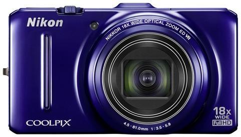 Digitalkamera Nikon CoolPix S 9300 blau