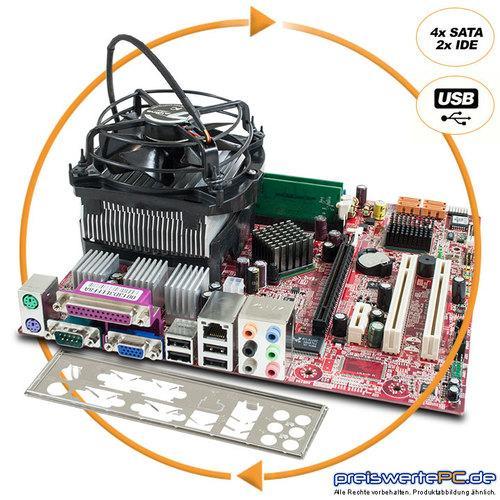 Aufrüst Bundle + CPU Intel Celeron D 3,2 GHz + RAM 1 GB DDR2 Motherboard MSI für nur 24,24 EUR inkl. Versand [gebraucht/12 Monate Garantie]