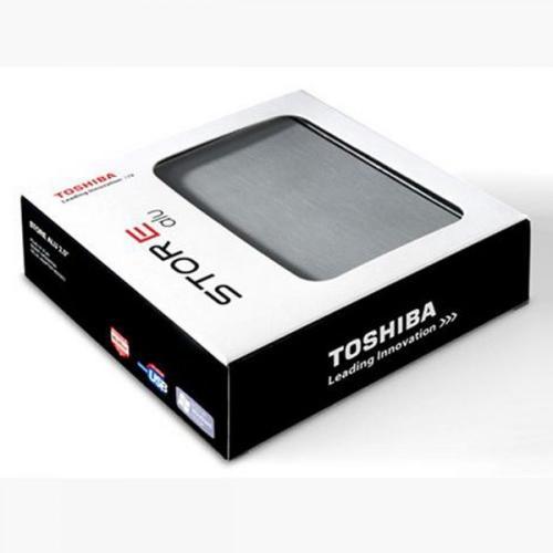 Externe 2,5? Festplatte im Alu-Gehäuse Toshiba StorE Alu 2S USB 3.0 mit 1TB Speicher in silber für nur 64,90 Euro, inkl. Versand!