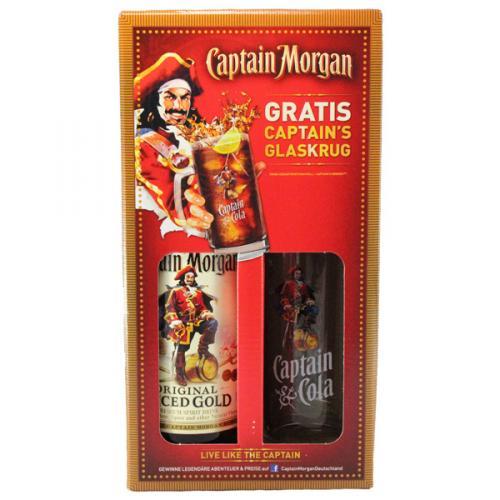 [Lokal Berlin?] Captain Morgan 0,7l mit Glaskrug für 9,99€ bei Netto (ohne Hund)