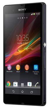 Sony Xperia Z schwarz Vodafone mit Vodafone Basic 100 Spezial für monatlich 19,99 €