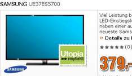 SAMSUNG UE37ES5700 FullHD,100Hz,Smart TV,Triple Tuner für 379€