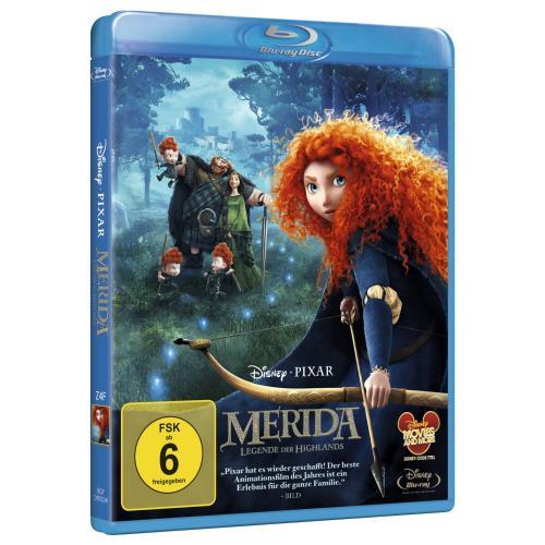 Disney/Pixar: Merida - Legende der Highlands [Blu-ray] für 12,90€ inkl. Versand von Amazon.de