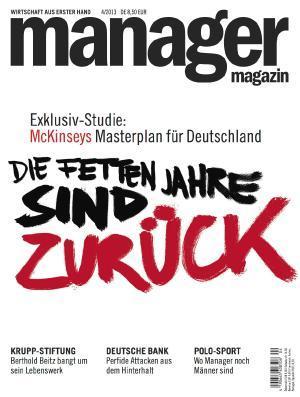 Manager Magazin 12 Ausgaben für 24,60€ durch Geldprämie (statt 99,60)