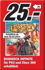 [LOKAL] Media Markt Hamburg-Billstedt: Bioshock Infinite PS3/360 für 25€