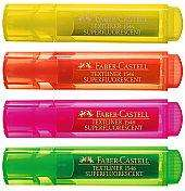 Faber-Castell Textmarker 4er Pack für 1,99€ @Hugendubel