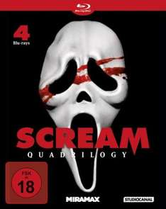 media-dealer.de : Scream Quadrilogy (Blu-ray)