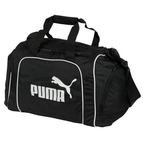 Puma Sporttasche Team Bag in klassischem Schwarz-Weiß für 14,99€ @ DC