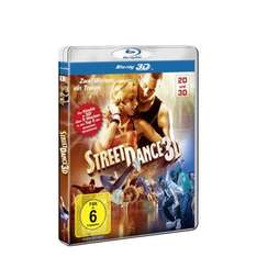 StreetDance 3D (inkl. 2D Version) [Blu-ray 3D] [Deluxe Edition] für 11,97€ @Amazon