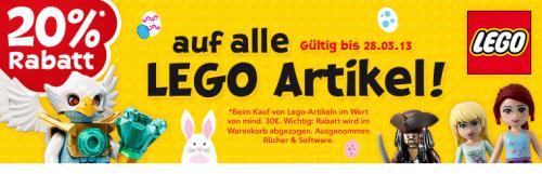 20 % Rabatt auf LEGO bei Toys'R'Us