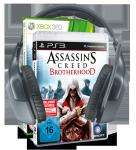 Logitech F540 + Ubisoft Assassin's Creed Brotherhood = 159 EUR