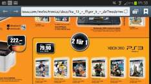 (Schweiz) Melectronics PS3 / XBOX Fifa 13, Far Cry 3, Battlefield etc. im Doppelpack zum Sahnepreis