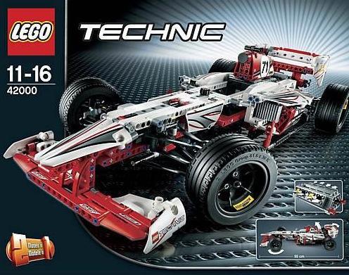 [Karstadt.de] LEGO Technic 42000 Grand Prix Racer 64,99 € inkl. VSK (mit Qipu € 63,36), 9397 Holztransporter 84,99€, 9396 Helikopter 60,98€