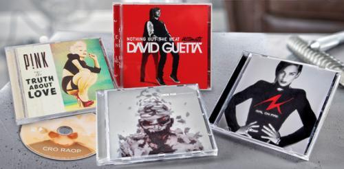 (ALDI SÜD) Verschiedene aktuelle Musikalben: u.a. Cro, Linkin Park, David Guetta, Pink, Fanta 4, David Garrett, Alicia Keys und mehr für je 7,99€