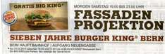 [lokal - Schweiz] Burger King BERN / Gratis Big King am 23.03 ab 19h bis 23h