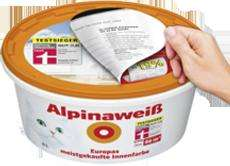 Alpina Weiß mit der Katze  :) Praktiker 35% +19% von Alpina (Offline)