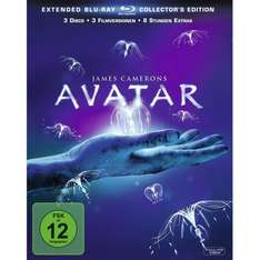 Avatar - Aufbruch nach Pandora (Extended Collector's Edition) [Blu-ray] @amazon