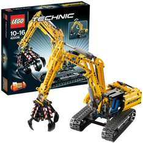 LEGO Technic 42006 (kleiner) Raupenbagger für 40,94€ @myToys