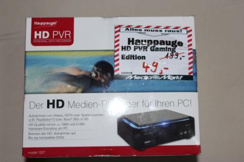 [Lokal] Media Markt Dietzenbach Hauppauge HD PVR Gaming Edition