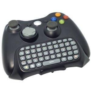 Tastatur Keyboard Messanger Texteingabe für Xbox 360 drahtlos Steuerung Schwarz G19