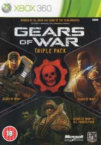 Gears of War im TriplePack , leider nur Teil 1-2 @zavvi.com