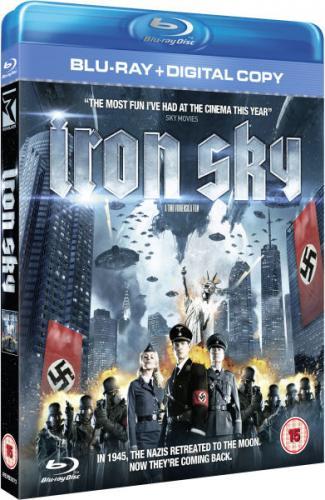 iron sky blu-ray + digital copy @ zavvi