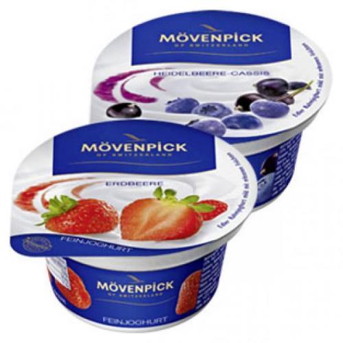 [Bundesweit] Mövenpick Feinjoghurt 150g - diverse Sorten - 17 oder 39% günstiger @Rewe