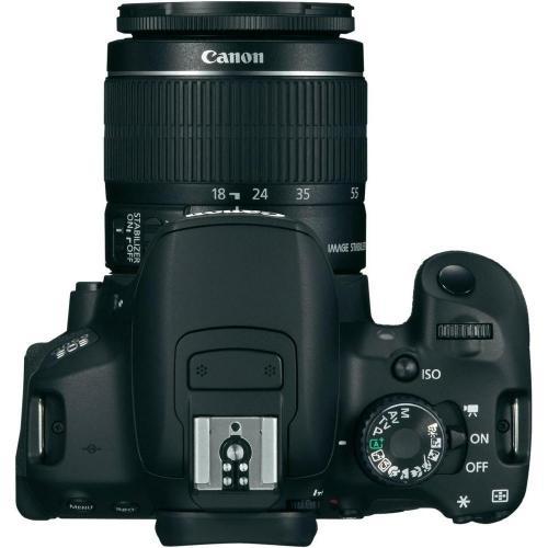 Canon EOS 650D Digitale Spiegelreflexkamera + EF-S 18 - 55 mm IS II Objektiv, 18.0 Mio. Pixel, 7.6 cm (3.0 Zoll), 18 - 5