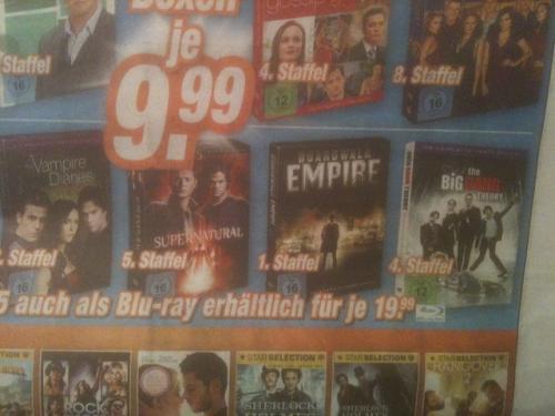 The Big Bang Theory Staffel 4 für 9,99 € / 19,99 € bei Expert Klein