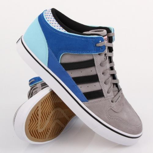 Adidas Culver Mid Grey Rock Black Blue @ Schuhdealer