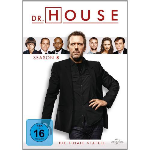 [Amazon.de] Dr. House- Staffel 8 (brandneu) [6 DVDs] inkl. Versand für 22,97 Euro