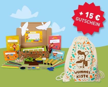 2 Wummelkisten zu Ostern für 10 Euro: Eine Kiste gratis plus 15-Euro-Gutschein auf die andere