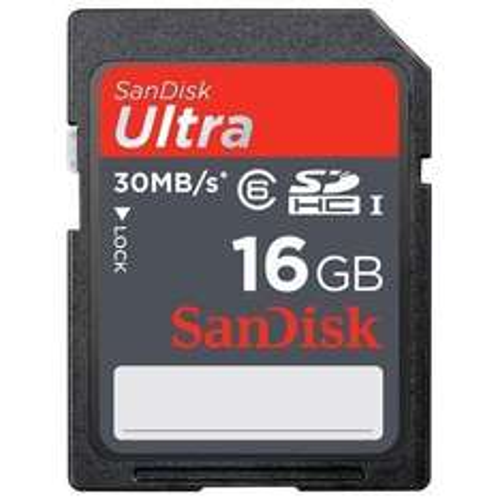 2x SanDisk Ultra SDHC 16GB Class 10 für 21,18 €