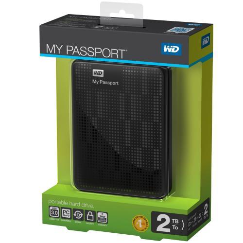 "Western Digital WDBY8L0020BBK-EESN externe Festplatte 2TB 2,5"""