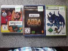 Singstar PS3/ PS2 (Made in Germany/ABBA) und XBOX (Blue Dragon) Lokal Kaufland Neckarsulm bei Heilbronn