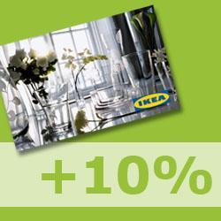 Ikea Moorfleet (lokal?) 10% Geschenkkartenaktion