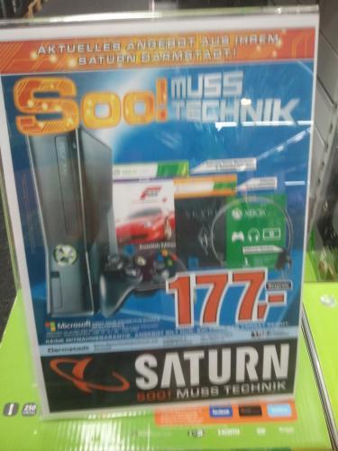 [Lokal Darmstadt] Saturn - Xbox 360 inkl. Forza 4 und Skyrim