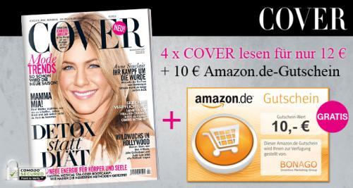 4 x COVER Magazin für effektiv 2€