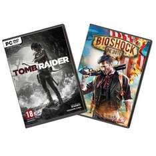 Tomb Raider+ Bioshock Infinite PC 3 x verfügbar @Ebay.de
