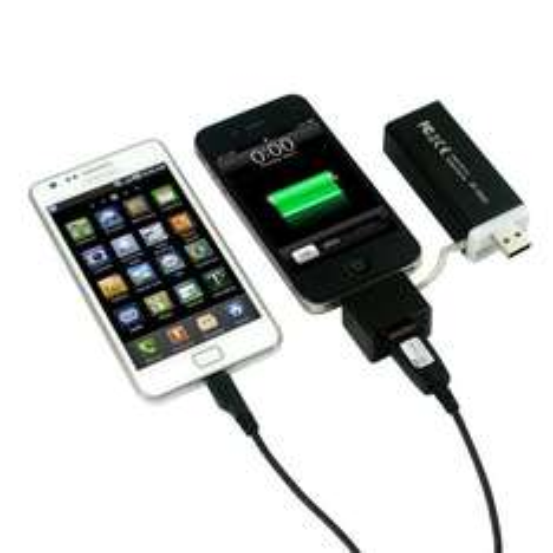 MiPow SP3000-BK PowerTube 3000 mobiler Zusatzakku für alle iPhones, iPods, Smartphones usw für 25,99€